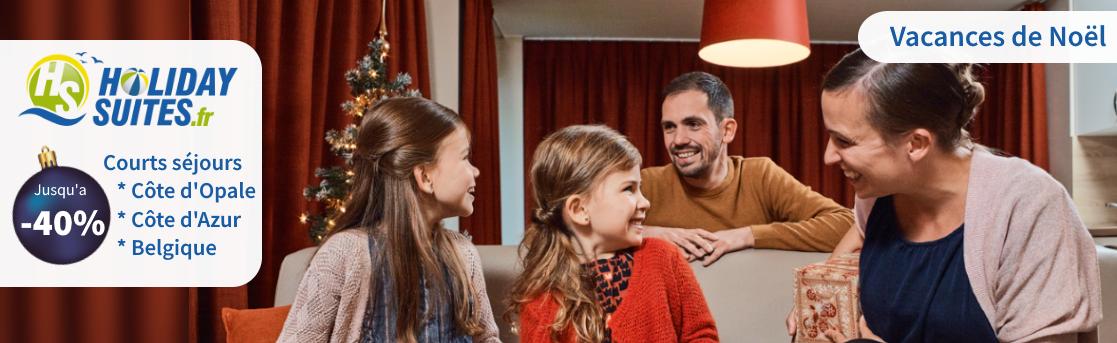 Offre fin d'année Holidays Suites