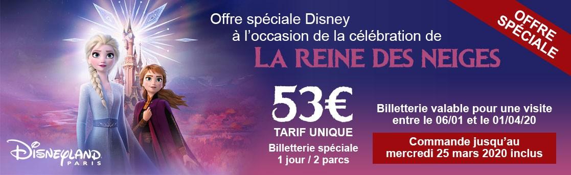 Offre spéciale Disney